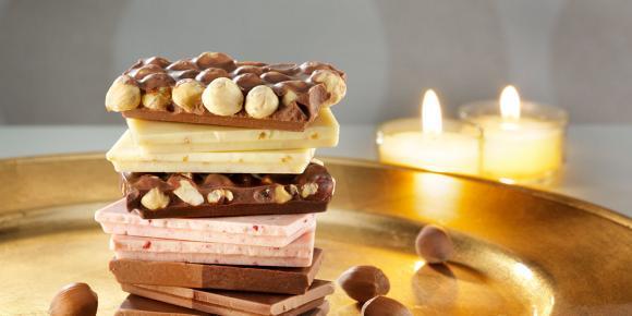 Frisch-Schokolade im Beutel-Mix