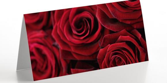 Grußkarte Rosen