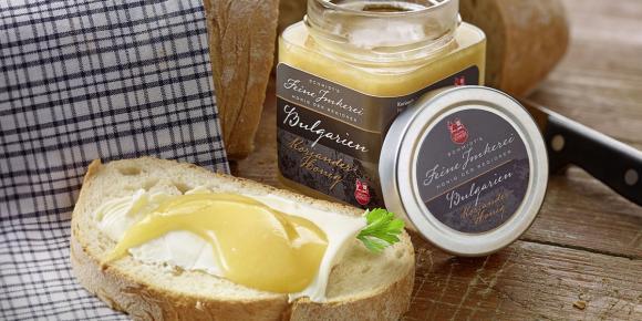 Bulgarian coriander honey