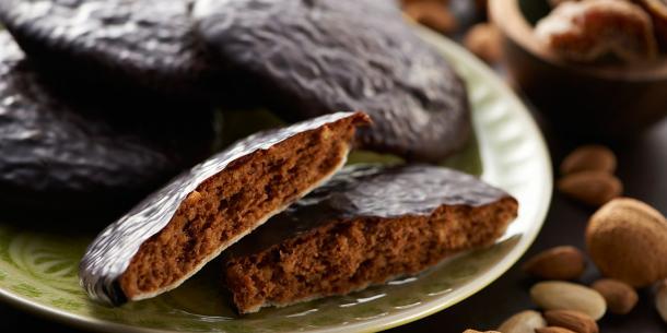 Feinste Marzipan-Elisen-Lebkuchen