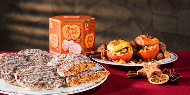 Feinste Bratapfel-Elisen Lebkuchen