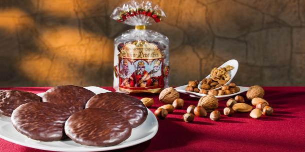 Premium-Elisen-Lebkuchen, chocolate coated
