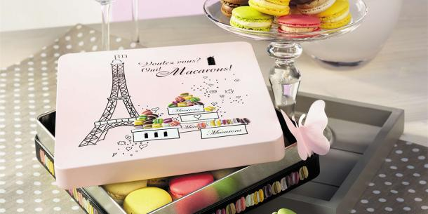Macarons in Presentbox