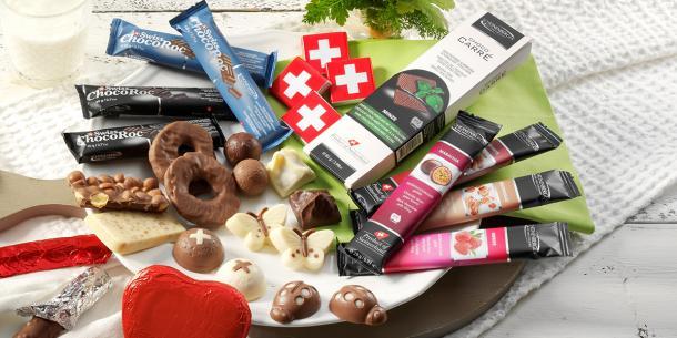 Jubiläumspaket Schweizer Schokolade Spezial